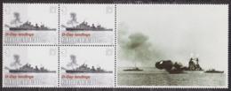 Débarquement En Normandie, 6 Juin 1944 - GIBRALTAR - Navire De Soutien - N° 1087 ** - 2004 - Gibilterra