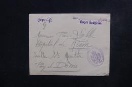 FRANCE / ALLEMAGNE - Enveloppe Du Camp De Prisonniers à Lechfeld Pour La France - L 46537 - Guerre De 1914-18