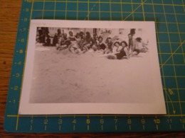 149800  VECCHIA FOTOGRAFIA Vita Da Spiaggia In Spiaggia - Barche
