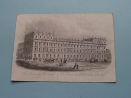 The TREASURY WHITEHALL Londres ( J T Wood / Holywell ) > ( Porcelein / Porcelaine ) Formaat +/- 15,5 X 11,5 Cm.! - Prenten & Gravure
