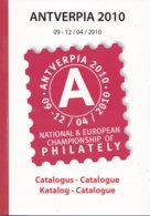 België - Catalogus Antverpia 2010 - National & European Championship Of Philately - Nieuw Exemplaar - Mostre Filateliche