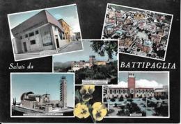 7-BATTIPAGLIA-SALUTI DA..VEDUTINE - Battipaglia