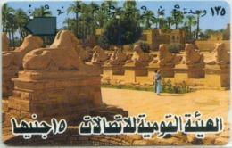 EGITTO-Tamura Magnetic-N.23-AVENUE OF SPHINX - Aegypten
