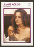 PORTRAIT DE STAR 1973 FRANCE - ACTRICE JEANNE MOREAU Dans LES VALSEUSES - ACTRESS CINEMA FILM PHOTO - Fotos