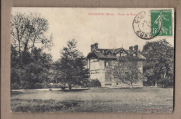 CPA 27 - CHARLEVAL - Chalet De Transière - TB PLAN EDIFICE Petit Château - Francia