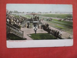 Horse Race Track  Latonia    - Kentucky    Ref 3712 - Owensboro