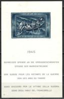 Schweiz Switzerland 1945. Mi Block 11 - Mit Falzsspur * - Blocks & Sheetlets & Panes
