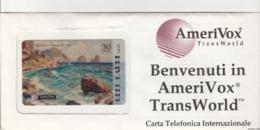 Scheda Telefonica AmeriVox  Capri -  Mai Utilizzata Come Da Foto. - Landscapes