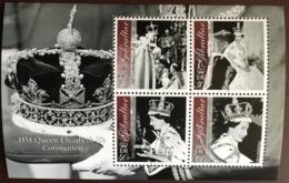 Gibraltar 2003 Coronation Anniversary Minisheet MNH - Gibilterra