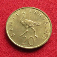 Tanzânia 20 Senti 1966 KM# 2 Bird Tanzanie - Tanzania