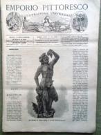 Emporio Pittoresco Del 14 Ottobre 1877 Coppa Centenario Usa Sicilia Alpi Liguri - Voor 1900