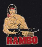 60302-Pin's -Rambo.cinema.Stallone. - Cinéma