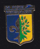 60308-Pin's -Mantes La Jolie.la Poste.PTT. - Post