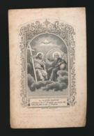 GRAVURE LA SAINTE TRINITE - PASTOOR AKKERGEM GENT - CHARLES VERHEYDEN - BEVERE 1797 - GENT 1854 2 AFBEELDINGEN - Décès
