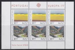 Europa Cept 1977 Portugal M/s ** Mnh (45191) ROCK BOTTOM PRICE - 1977
