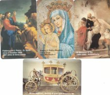 LOTTO 49 DI N° 4 SCHEDE VATICANO SCADENZA 01/01/1999 NUOVE - Vatican