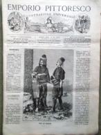 Emporio Pittoresco Del 21 Ottobre 1877 Sollevatore Malati Crociate Inquisizione - Voor 1900