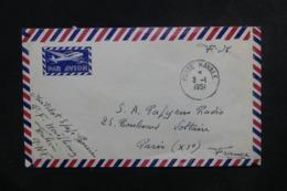 FRANCE / INDOCHINE - Enveloppe En FM Pour Paris En 1951, Cachet De La Poste Navale De Haïphong - L 46560 - Seepost