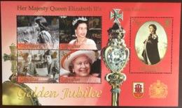 Gibraltar 2002 Golden Jubilee Minisheet MNH - Gibilterra