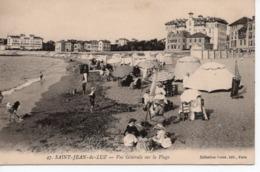 SAINT JEAN DE LUZ - VUE GÉNÉRALE SUR LA PLAGE - Saint Jean De Luz