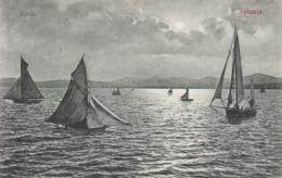 Opatija (Abbazia) * Segelboot, Schiffe, Mond * Kroatien * AK788 - Kroatië