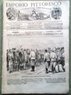 Emporio Pittoresco Del 4 Novembre 1877 Conferenza Washington Inquisizione Moda - Voor 1900