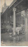 CPA PARIS  Crue De La Seine  Rue Alboni Le 30 Janvier 1910   édit ELD - Inondations De 1910