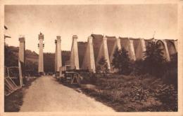 58 - Pannecières-Chaumard - Le Barrage Vu D'Aval - N°2 - Other Municipalities