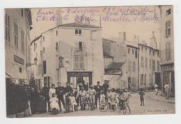 BA217 - TOUL - Place Croix De Fust - Tampon Franchise Militaire - Toul