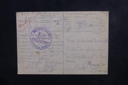 FRANCE - Carte De Réception De Colis D'un Prisonnier En 1916 Au Camp De Landau Pour Melun - L 46564 - Marcofilia (sobres)