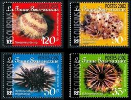 POLYNESIE 2002 - Yv. 663 664 665 Et 666 ** SUP  Faciale= 2,48 EUR - Faune Sous-marine (4 Val.)  ..Réf.POL24752 - Polinesia Francese