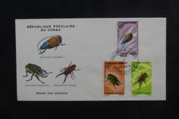 CONGO - Enveloppe FDC En 1970 - Insectes - L 46572 - FDC