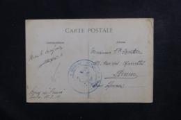 FRANCE - Correspondance Sur Carte Postale D'un Marin à Bord Du France à Toulon En 1914, Cachet Ancre De Marine - L 46573 - Seepost