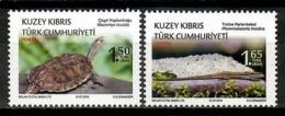 Turkish Cyprus 2018 Chipre Turco / Reptiles Turtles Lizards MNH Tortuga Lagarto Schildkröten Tortues / Cu15018  1-3 - Tortugas