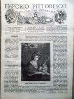 Emporio Pittoresco Del 25 Novembre 1877 Santa Cecilia Danza Diavolo India Asia - Voor 1900
