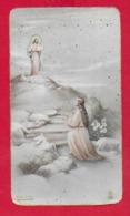 SANTINO ITALIA - Ricordo Della Professione Perpetua Di Suor Saveria Fioretti - Casa Parrocchiale BESOZZO 1941 - 6 X 10 - Santini
