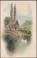 The Old Farm, 1907 - Popular Series Postcard - Künstlerkarten