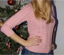 Pull Rose Poudré H&M Manche 34 Taille 36 - World
