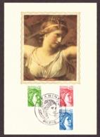 France 1981 -  Sabine De Gandon - Carte Philatélique  # MNH # Cartes Maximum - 1977-81 Sabine Of Gandon