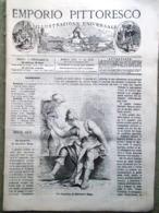 Emporio Pittoresco Del 9 Dicembre 1877 Tribù Caucasiche Menura Figaro Rosa Lira - Voor 1900