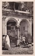 SUPERBE CARTE PHOTO Alger Casbah Fontaine Turque De La Rue De La Casbah - édition La Cigogne - Africa