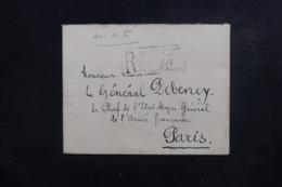 ROUMANIE - Enveloppe En Recommandé De Bucarest Pour La France En 1925, Affranchissement Au Verso - L 46586 - Briefe U. Dokumente