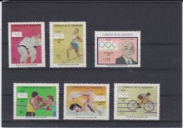 El Salvador 1984 Los Angeles Olympic Games 6 Stamps - MNH/** (H59) - Sommer 1984: Los Angeles