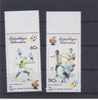 Gabon 1982 FIFA World Cup Football In Spain 2 Stamps - MNH/** (H59) - Wereldkampioenschap