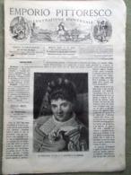 Emporio Pittoresco Del 16 Dicembre 1877 Oriente Battaglia Caffè Iena Parafuoco - Voor 1900
