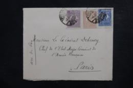 ROUMANIE - Enveloppe  De Bucarest Pour La France ( Chef D'Etat Major ) Affranchissement Plaisant ( Tricolore ) - L 46587 - 1918-1948 Ferdinand I., Charles II & Michel