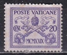 Città Del Vaticano, 1929 - 20c Conciliazione - Nr.3 MNH** - Neufs