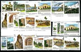 Grecia Nº 1800/11 Tipo A Y B. Cat.37€ - Greece