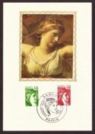 France 1980 -  Sabine De Gandon   Carte Philatélique   # MNH # Cartes - Maximum - 1977-81 Sabine Of Gandon