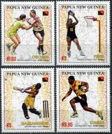 Papua New Guinea 2019. Papua New Guinea Sports Teams (MNH OG) Set Of 4 Stamps - Papua Nuova Guinea